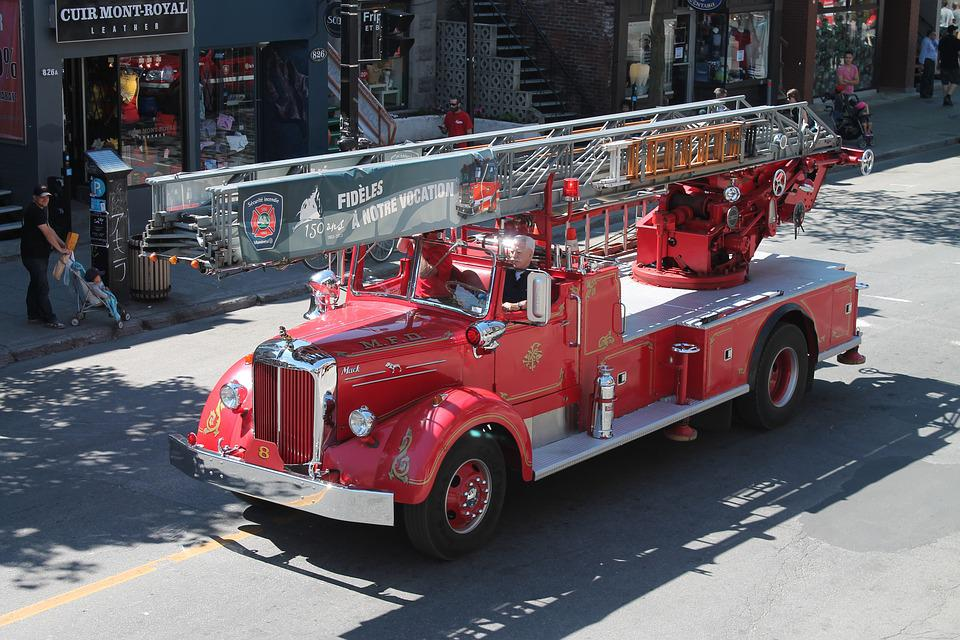 History Firefighter Truck Older · Free photo on Pixabay