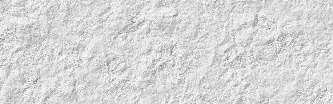 Banner Header Paper Crumpled Texture