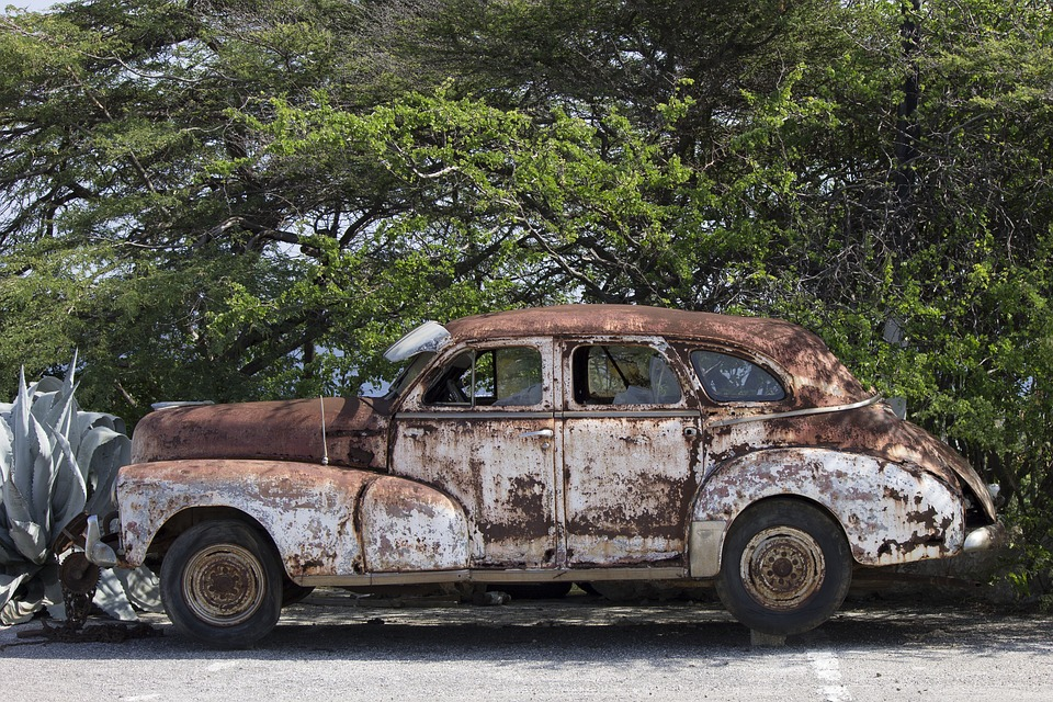 Car Old Wreck Classic · Free photo on Pixabay