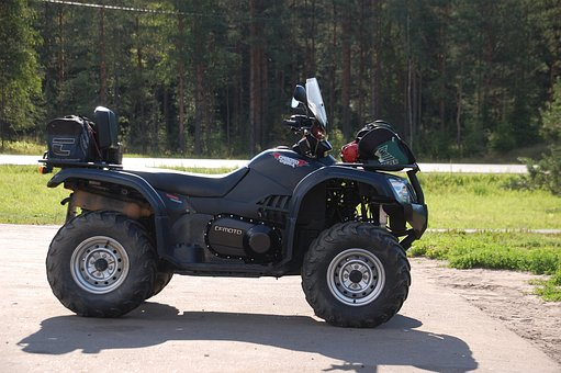 Atv Transport Road Summer Means Of Transpo