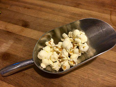 Scoop Popcorn Scoop Popcorn Food Corn