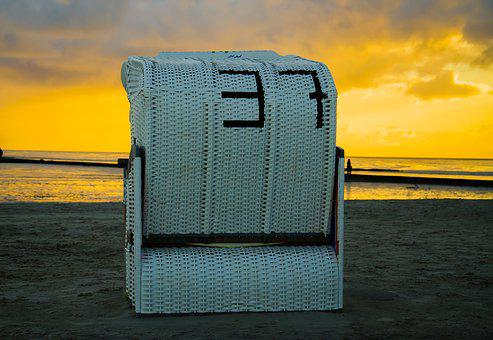 Strandkorb sonnenaufgang  Strandkorb - Kostenlose Bilder auf Pixabay
