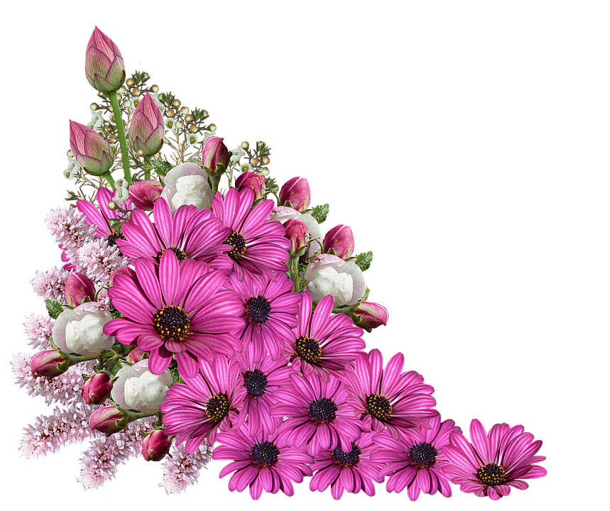 Flowers bouquet decoration free image on pixabay - Bunch of roses hd images ...
