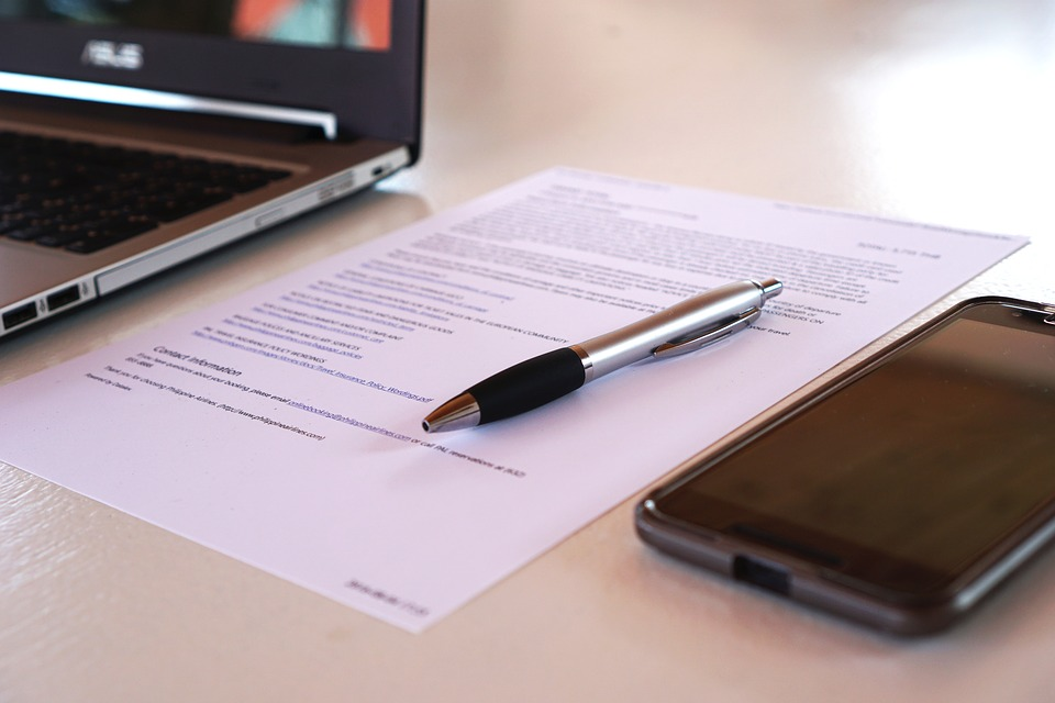 Büro Vertrag Vereinbarung Arbeiten Kostenloses Foto Auf Pixabay