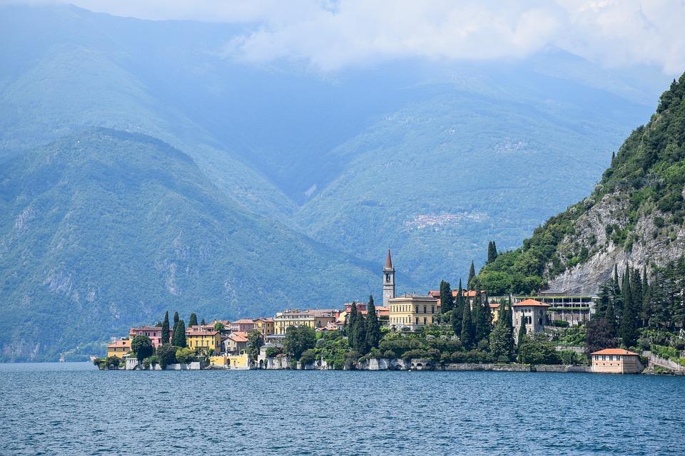 Lake Como, Italy, Vacations, Sea, Water, Summer