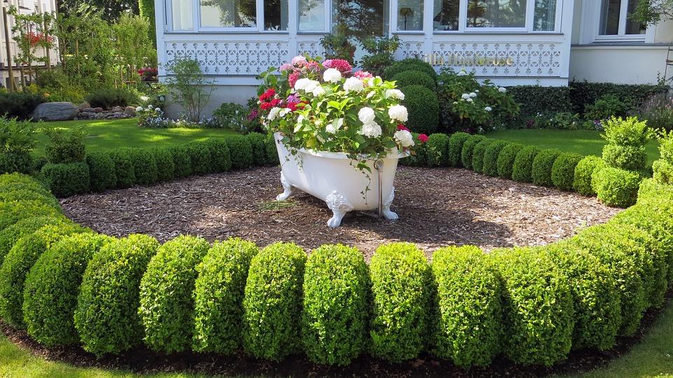 Wanne Dekoration Vorgarten Kostenloses Foto Auf Pixabay