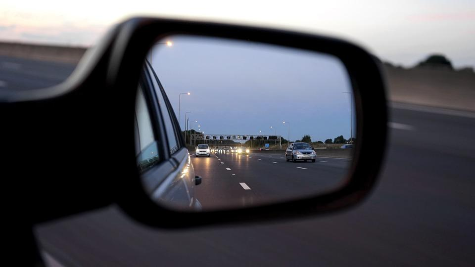 Car, Mirror, Vehicle, Road, Automobile, Transportation