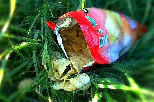 Crisps, Potato Crisps, Junk Food
