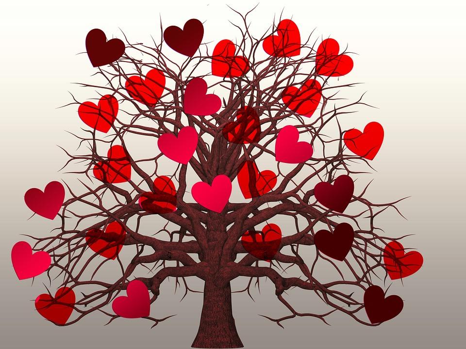Illustration gratuite coeur arbre amour saint valentin image gratuite sur pixabay 1577791 - Images coeur gratuites ...