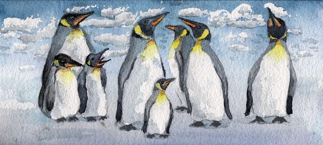 запрос пингвины на картинах художников вот японский омлет