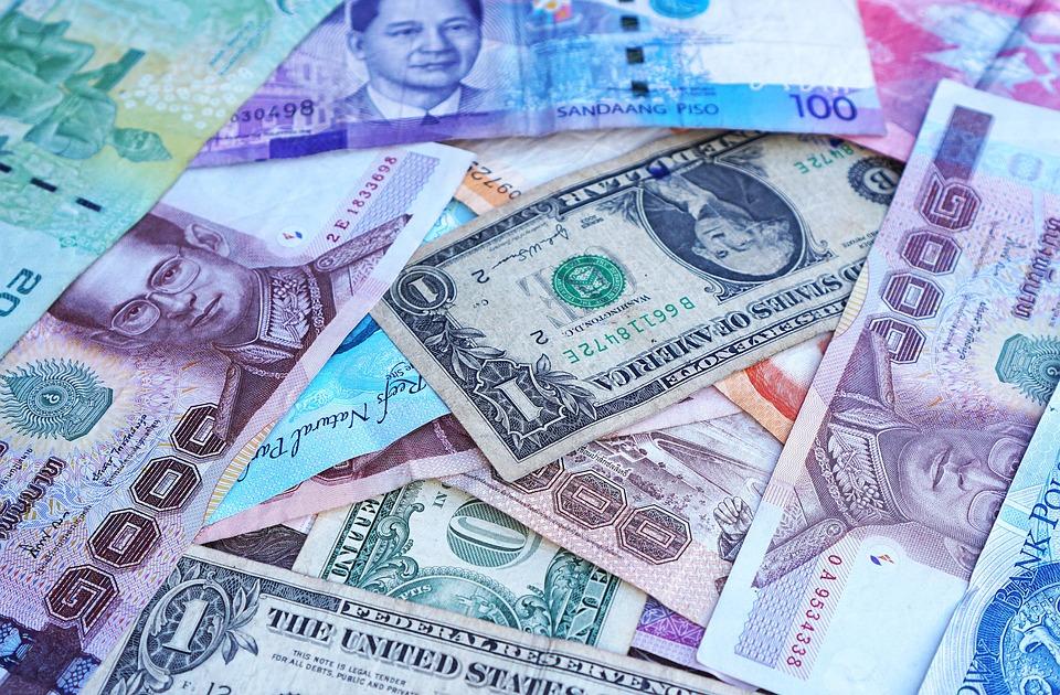 Деньги, Банкноты, Валюта, Форекс, Долларов Сша, Евро