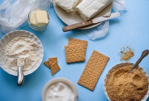Ingredients, Butter, Cheese, Cookies