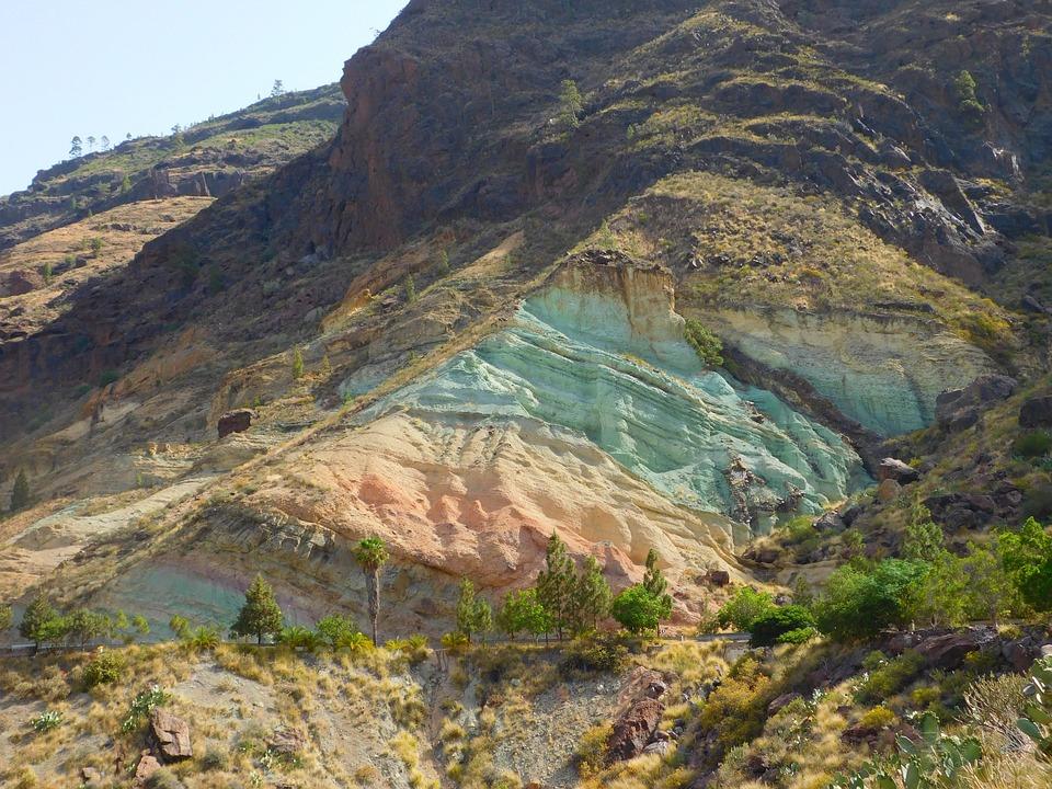 Mountain colors azulejos gran free photo on pixabay - Los azulejos gran canaria ...
