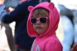 Children, Play, Sunglasses, Masquerade