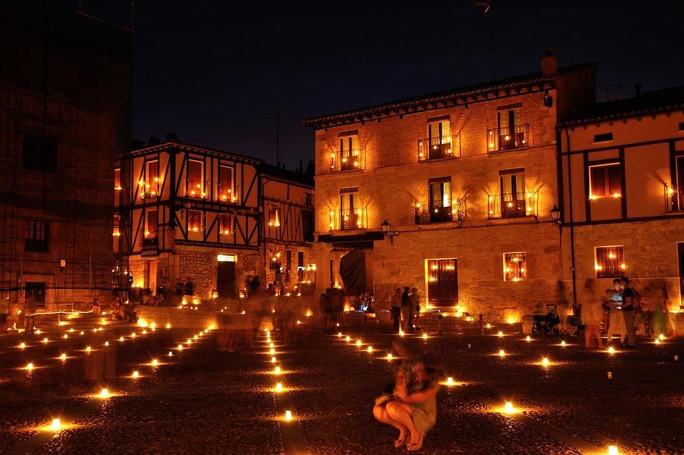 Night, Candles, Peñaranda, Filipino