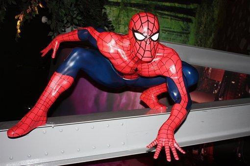 Spiderman, Figura, Cómic, Comiccon