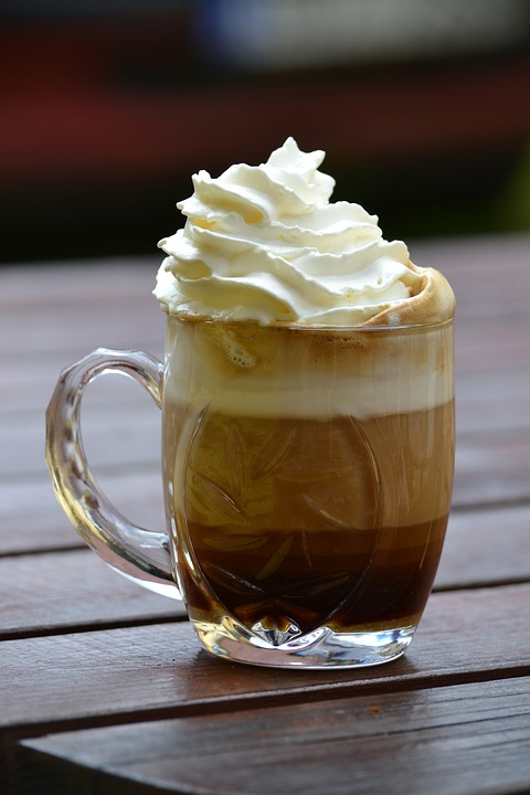 Coffee Cup Whipped Cream Free Photo On Pixabay