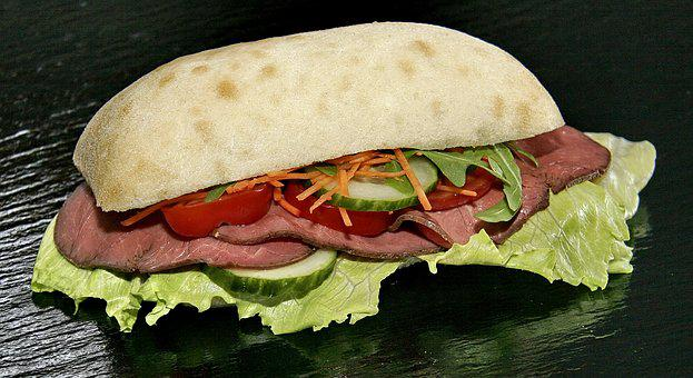Roast Beef Saucy Sandwich Recipe