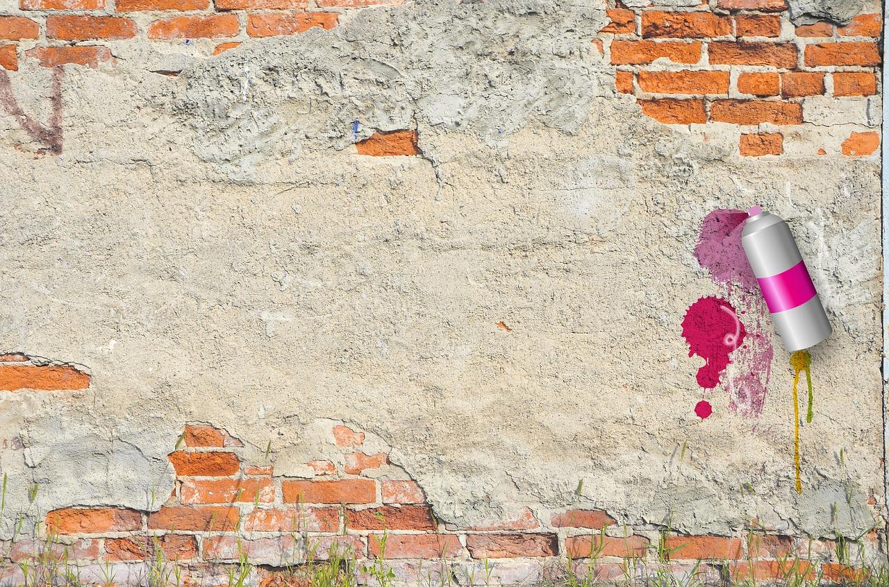 кирпичная стена рисунок красками доступны бильярдная комната