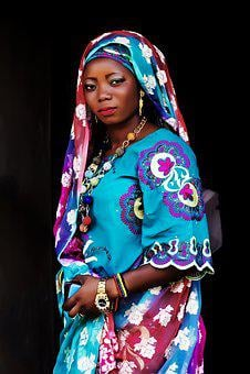 African Woman Woman Nigeria Woman Black Fe