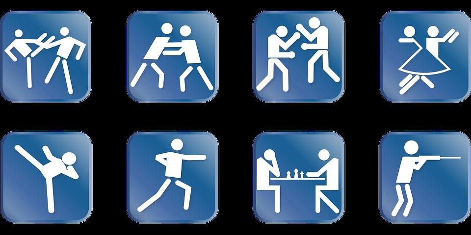 Populaire Image vectorielle gratuite: Sport, Pictogramme, Jeunesse - Image  AO13