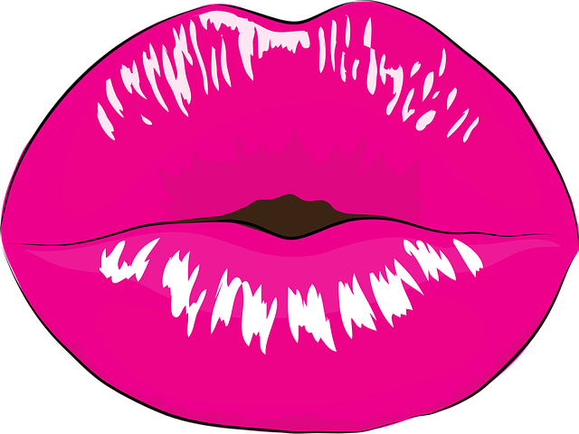 Free Vector Graphic Mouth, Makeup, Kiss, Pink - Free -7022
