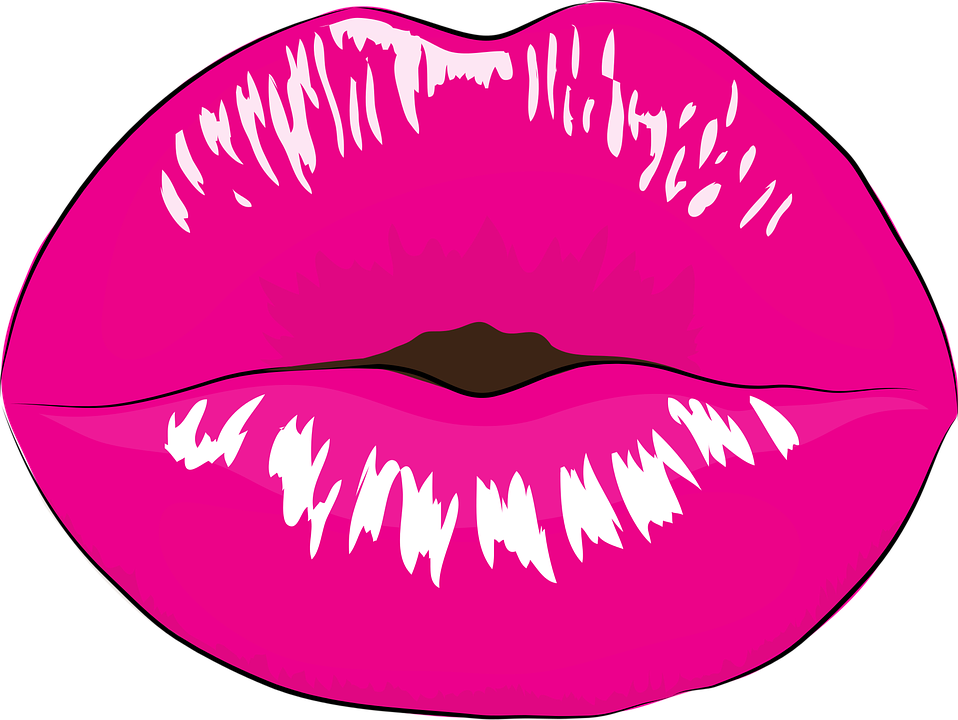 Free vector graphic: Mouth, Makeup, Kiss, Pink - Free ...