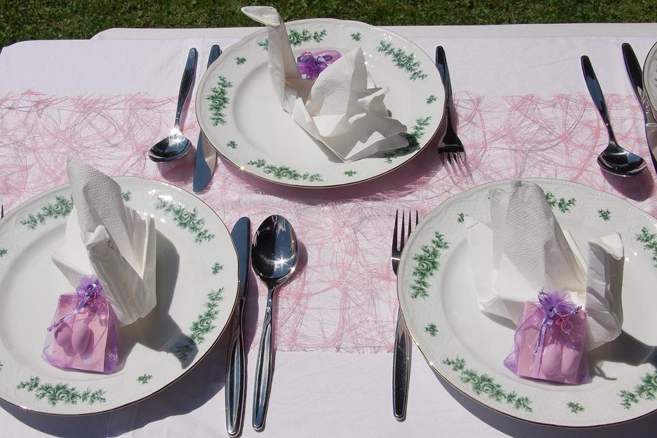 Taufe Tischschmuck Feier Kostenloses Foto Auf Pixabay