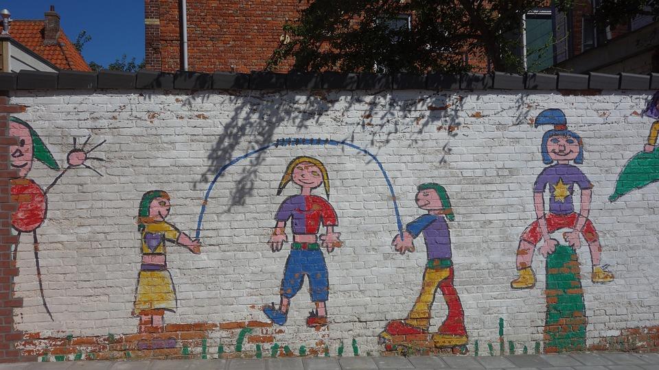 Copii Graffiti Vesel Fotografie Gratuită Pe Pixabay