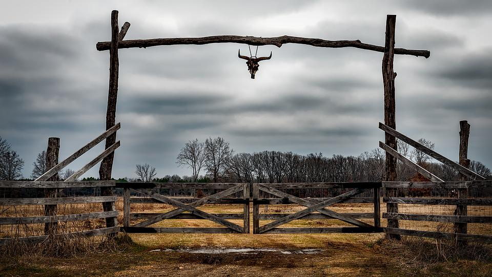 Free Photo Texas Ranch Entrance Fence Free Image On