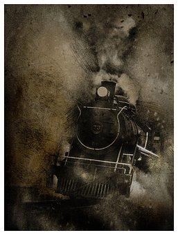 Locomotive, Transport, Railroad, Train