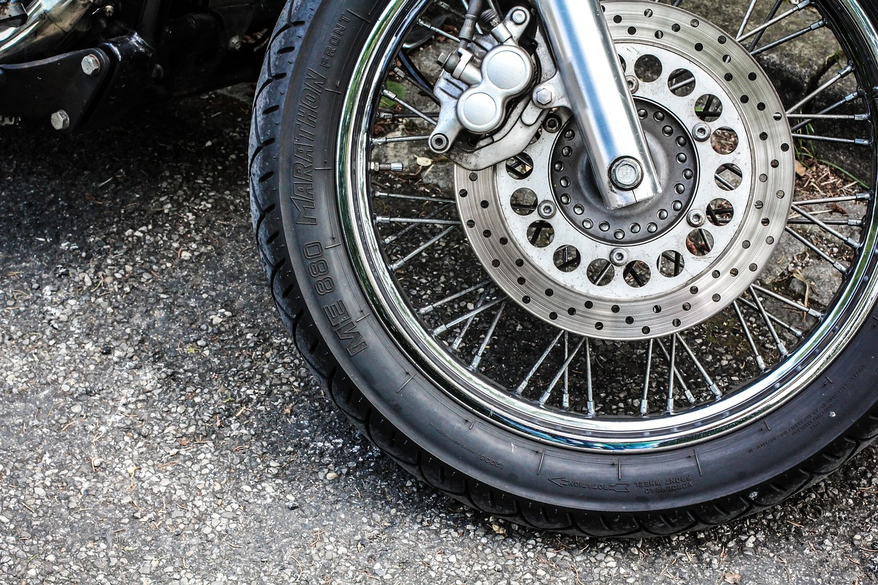 Wheel Mature Motorcycle - Free photo on Pixabay