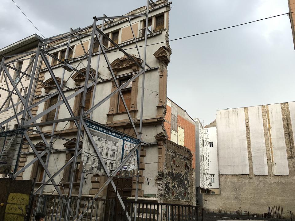 Facade Renovation Architecture City Frame Europe