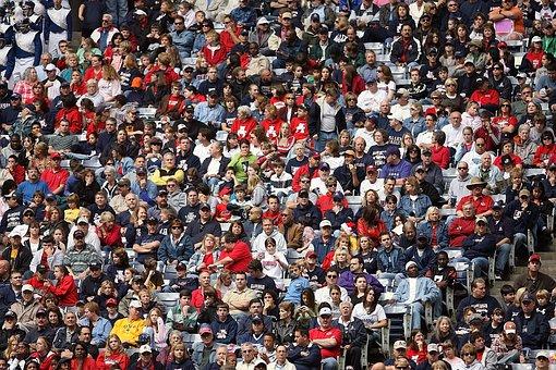 Multidão, Fãs De Esportes, Espectadores