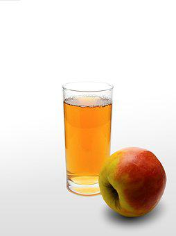 Juice, Apple, Glass, Drink, Refreshment