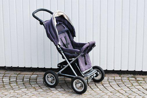Pram, Stroller, Toddler, Family, Pram