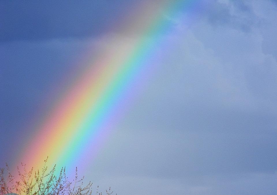rainbow color sky 183 free photo on pixabay