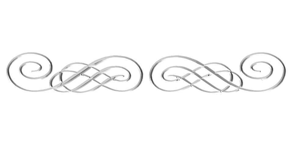 silver ornamental flourish 183 free image on pixabay
