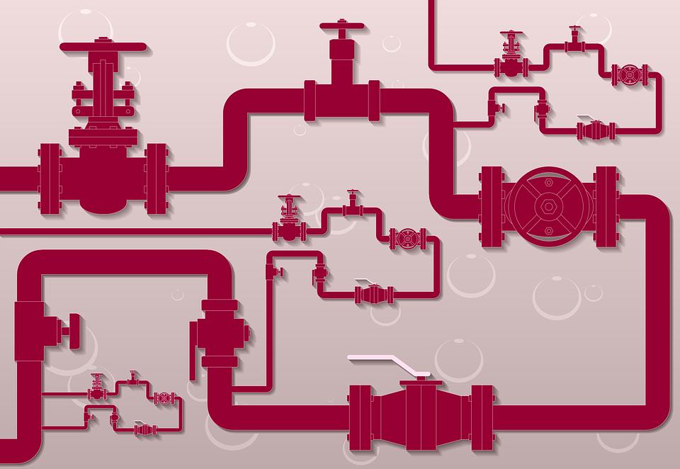Pipeline, Gate Valve, Flowmeter, Water Meter, Valve