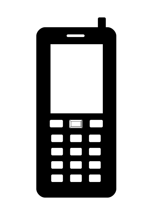 Phone, Icon, Symbol, The Button, Icons, White