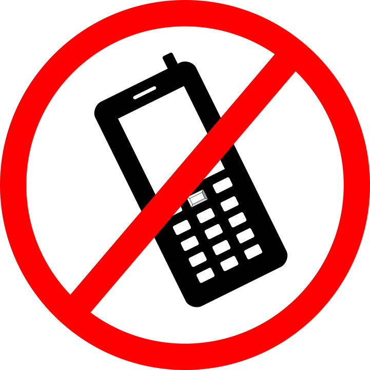 phone cellular not free vector graphic on pixabay rh pixabay com No Cell Phone Emoji No Cell Phone Use Clip Art
