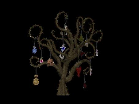 Träd, Fantasy, Sagor, Bladlösa