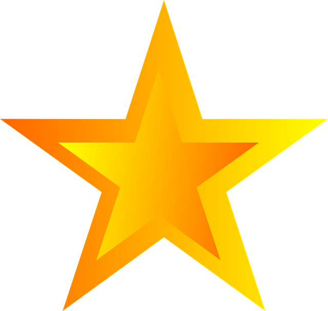 Free Illustration Star, Asterisk, Five-Pointed - Free -1354