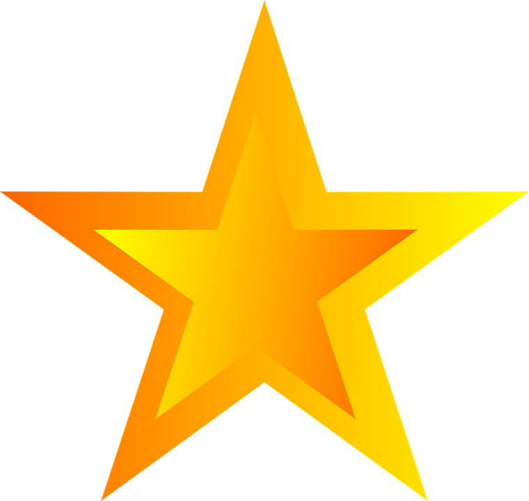 Free Illustration Star, Asterisk, Five-Pointed - Free Image On Pixabay - 1586412-8658