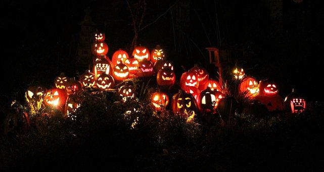 Pumpkins, Jack-O-Lanterns, Halloween