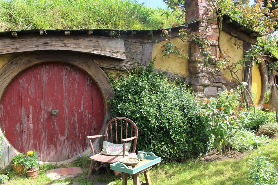 Hobbiton, Новая Зеландия, Набор Фильмов, Местоположение