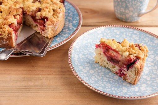 Gâteau, Plum Cake, Gâteau Streusel