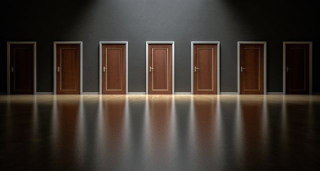 Doors, Choices, Choose, Open, Decision