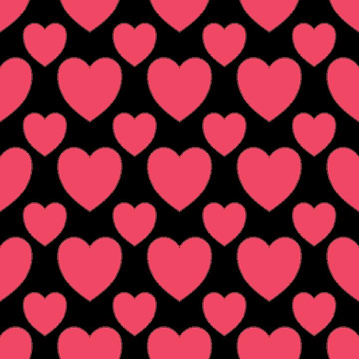 Simple Coeurs Valentin · Images Vectorielles Gratuites Sur