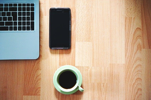 Free Photo Office Phone Coffee Table Free Image On